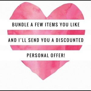 🌸Bundle and Save! 💥